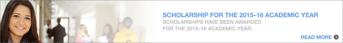 May 1  Scholarship Deadline